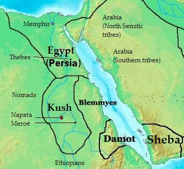 Map Of Africa Bodies Of Water.Kush Africa Bodies Of Water